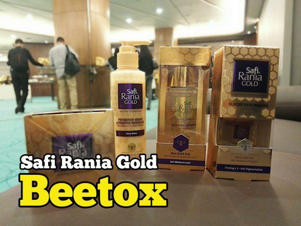Safi Rania Gold Beetox Produk Kecantikan Teknologi Baru Safi Malaysia