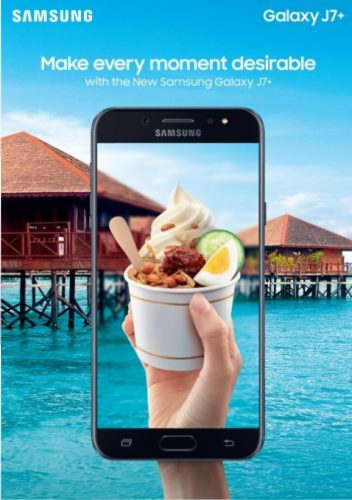 Food Photography Guna Smartphone Samsung Galaxy J7+