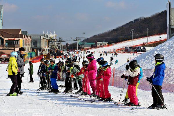 Tempat Ski Terbaik Di Korea Selatan