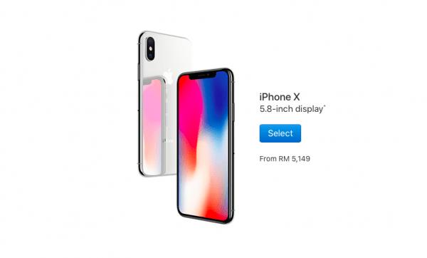 Harga iPhone X Malaysia Katanya Bermula Dari MYR5,149