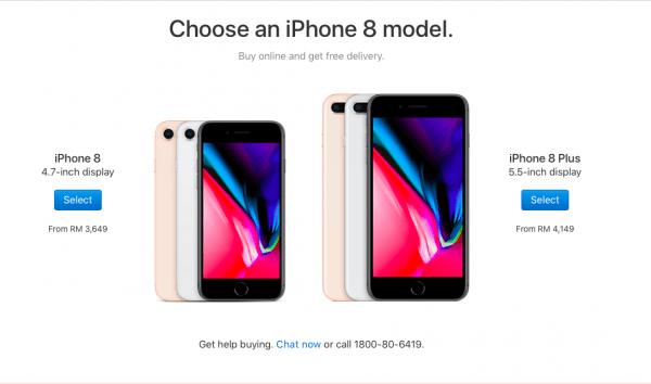 Harga Jualan iPhone 8 Malaysia