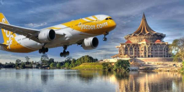 Scoot Air Inaugural Flight Singapore Kuching