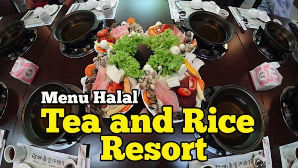 Menu Halal Di Rice And Resort Yilan County Ada Aktiviti DIY