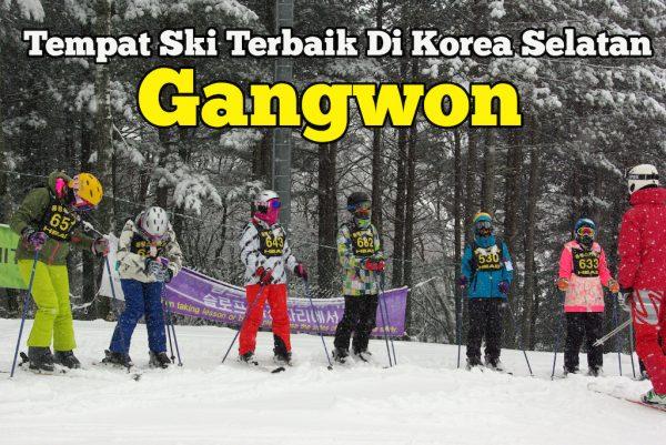 Tempat Ski Terbaik Di Korea Selatan Gangwon Province Paling Popular
