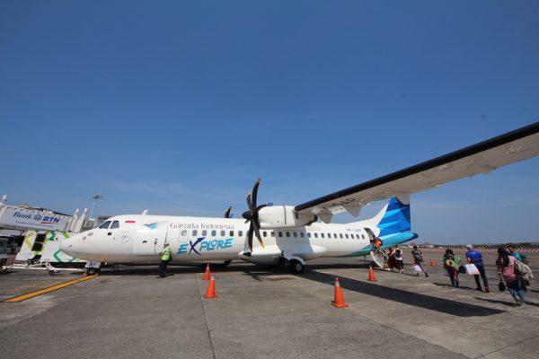 Flight Ke Pulau Flores Labuan Bajo Airport Di Indonesia