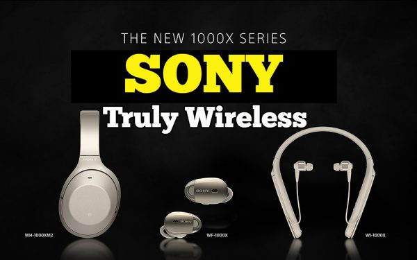 Sony Perkenal Koleksi 1000X Series Truly Wireless Headphones