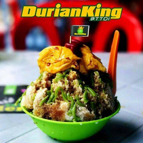 cendol durian di durian king ttdi