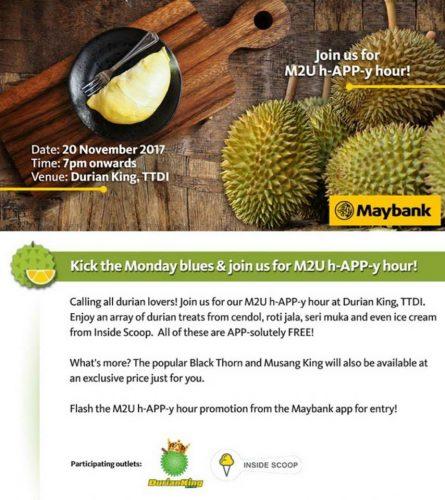 promosi durian murah