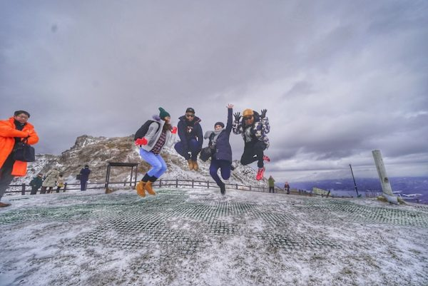 Percutian Musim Sejuk Hokkaido Hari Kedua Mount Usu Lake Toya Rusutsu Resort
