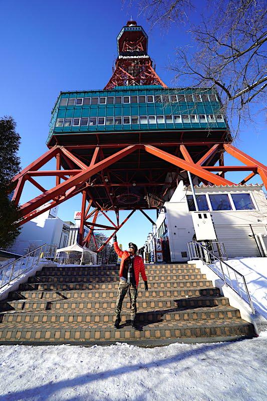 Percutian Musim Sejuk Hokkaido Hari Keempat Sapporo Nijo Market Mount Moiwa