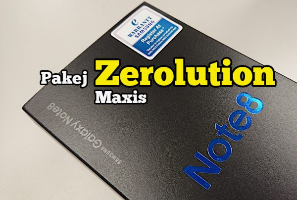 Pakej Zerolution Maxis Samsung Galaxy Note8 Cara Bayar Ansur Ansur