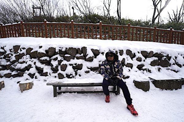 Percutian Musim Sejuk Hokkaido Hari Kelima Noboribetsu Bear Park Onsen Hokkaido