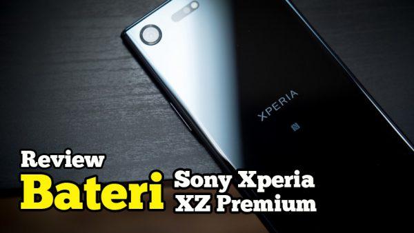 Tak Percaya Bateri Sony Xperia XZ Premium Tahan Cuaca Sejuk Salji
