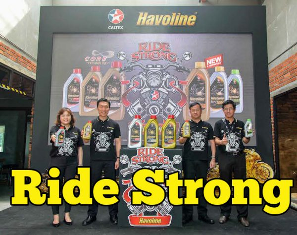 Caltex Havoline Ride Strong Campaign