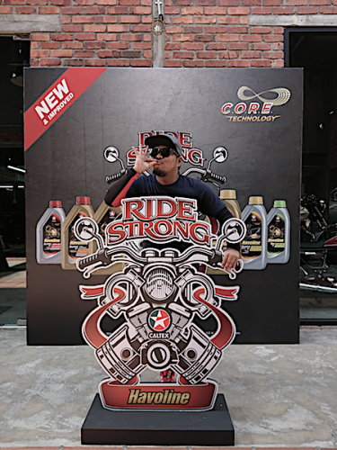 Caltex Havoline Ride Strong Campaign Guna CORE Technology