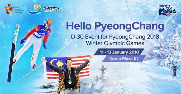 Hello PyeongChang D-30 Event
