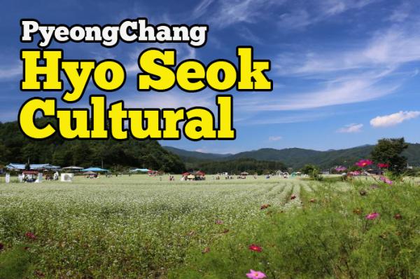 Hyo Seok Cultural Festival Antara Tempat Yang Menarik Di PyeongChang Korea