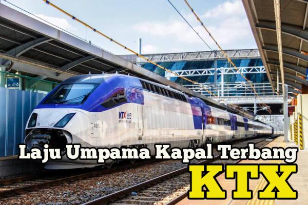 KTX Korea Train eXpress Umpama Kapal Terbang Atas Landasan Kembara Korea Lebih Mudah 2018