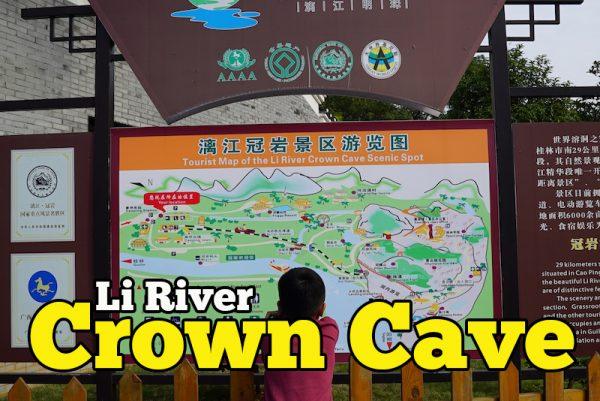 Gua Warna Warni Li River Crown Cave Guilin Antara Tarikan Pelancong Terbaik Di China