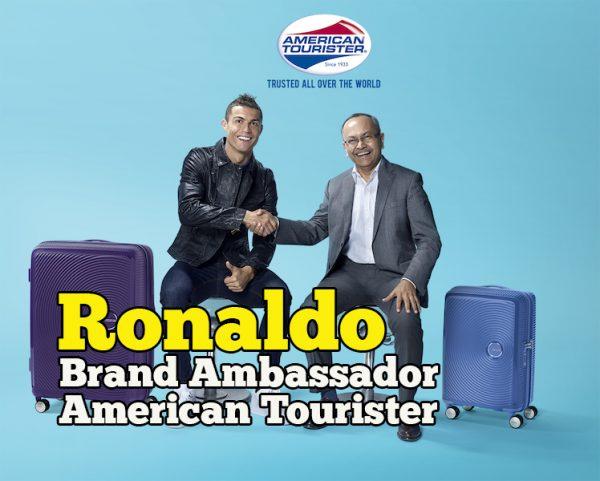 Cristiano Ronaldo CR7 Kini American Tourister Brand Ambassador 2018