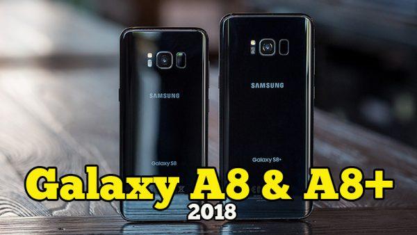Galaxy A8 Dan Galaxy A8+ Smartphone Samsung Pertama Dual Front Camera