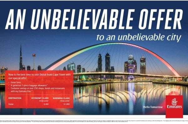 Tawaran Khas Tiket Penerbangan Emirates Ke Destinasi Impian 2018