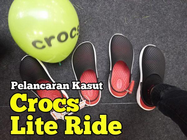 Pelancaran Kasut Crocs Lite Ride Inovasi Terbaru Dalam Teknologi Keselesaan