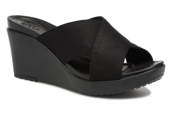 crocs leigh ii xstrap wedge