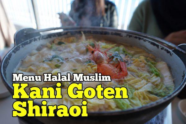 Kani Goten Shiraoi Sapporo Menu Halal Muslim Di Hokkaido
