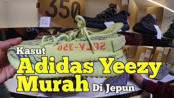 Kedai Jual Kasut Adidas Yeezy Murah Di Jepun Pre-Loved
