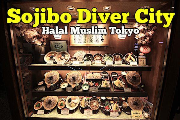 Restoran Sojibo Diver City Plaza Tokyo Menu Soba Noodles Japan