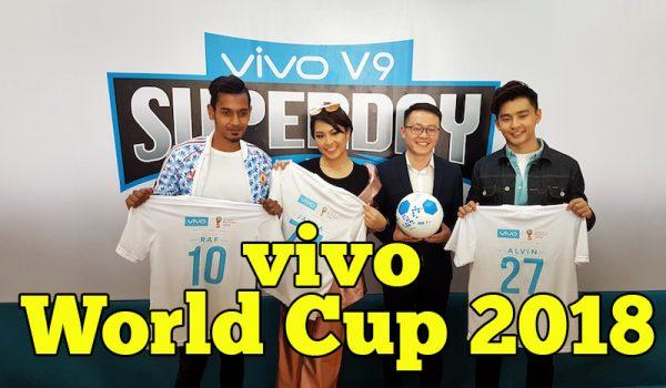 Vivo Membawakan Kemeriahan Bola Sepak FIFA World Cup 2018
