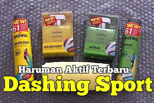 Produk Dashing Sport Range Haruman Aktif Golden Boot Dan Hitman