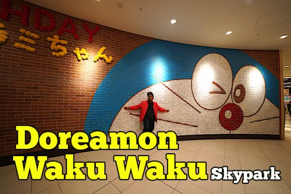 Doraemon Waku Waku Skypark New Chitose Airport Indoor Theme Park