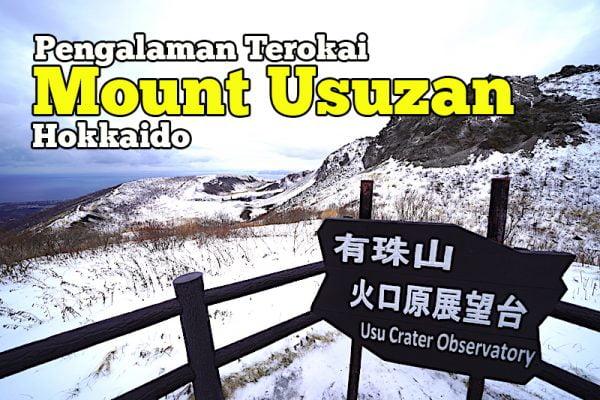 Pengalaman Teroka Mount Usuzan Ropeway Hokkaido Musim Salji