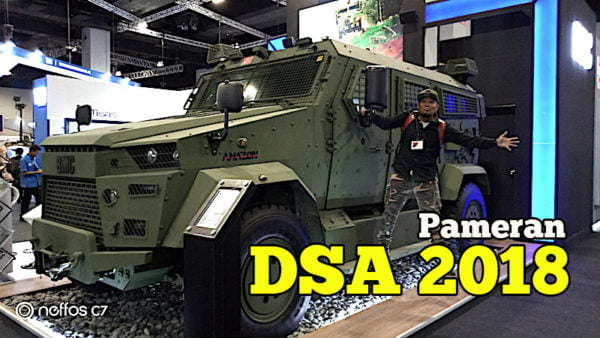 Pameran Defense Services Asia 2018 MITEC 16 – 19 April 2018