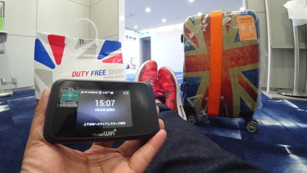 Review Pocket WiFi Travel Recommends Di Jepun