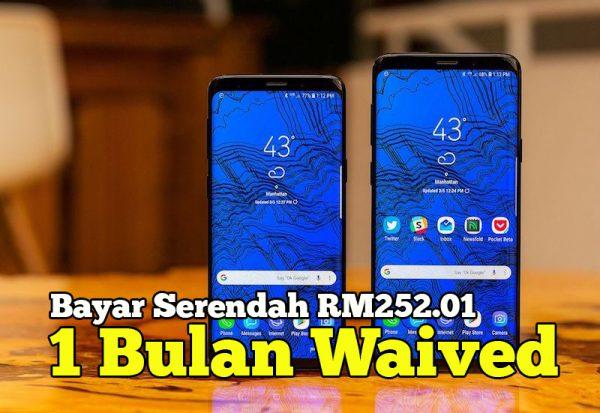 Harga Samsung Galaxy S9 Malaysia Bayar Serendah RM252