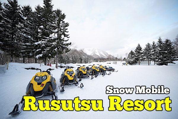 Pengalaman Snow Mobile Di Rusutsu Resort Hokkaido Japan