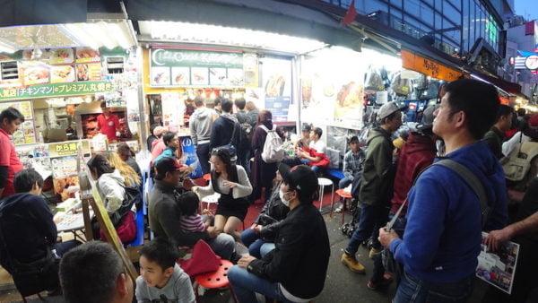 Kebab Ameya-Yokocho Market
