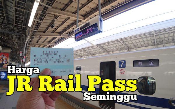 Berbaloi Tak Beli Harga Japan Rail Pass Untuk Seminggu JPY33000
