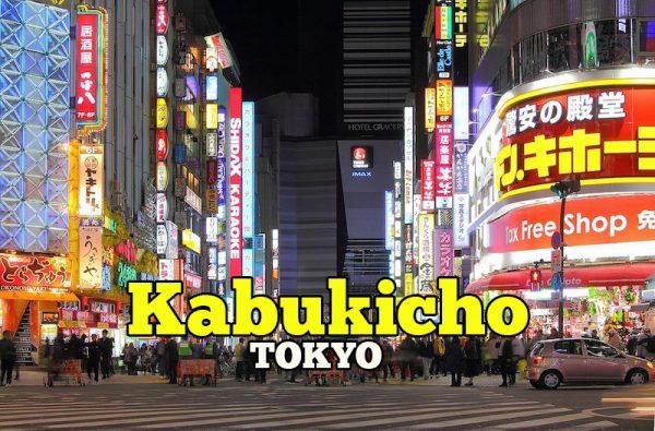 Kabukicho Shinjuku Tokyo Tempat Paling Panas Di Jepun
