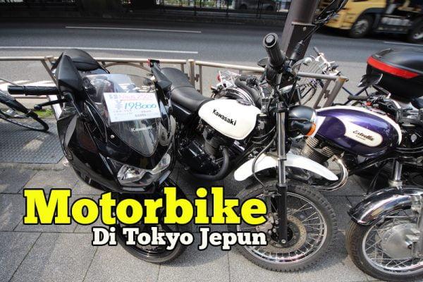 Koleksi Gambar Motorbike Di Tokyo Japan Banyak Model Yamaha Kawasaki Dan Honda
