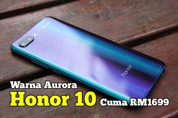 smartphone honor 10 di malaysia price
