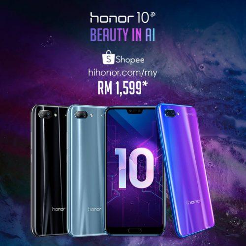 honor 10 malaysia promotion