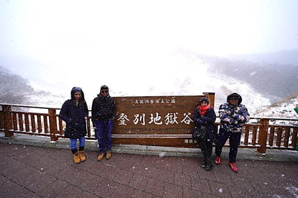 Noboribetsu Jigokudani Hell Valley Hokkaido Kolam Air Panas Asli