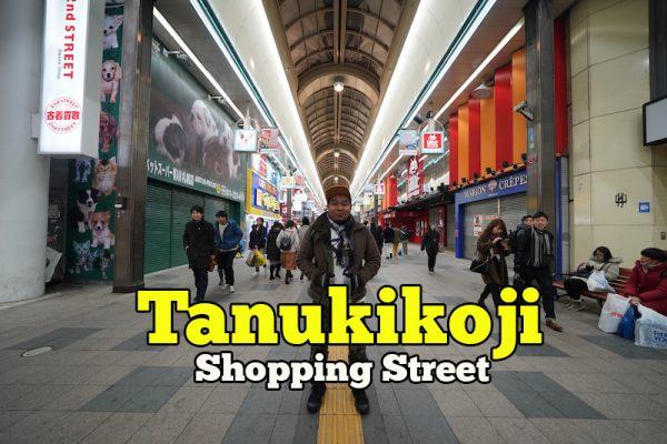 Tanukikoji Shopping Street Sapporo Tempat Membeli Belah Arked