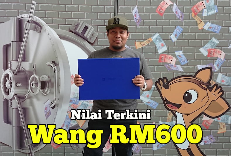 Nilai Wang Kertas Peringatan RM600, RM60 Uncut Dan RM60 Terkini