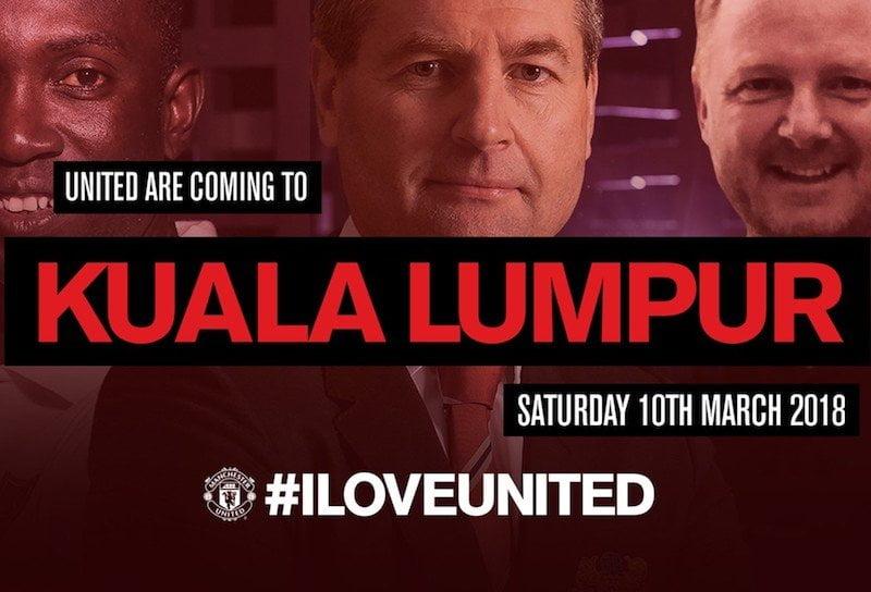 Lebih 3000 Peminat Manchester United Ambil Alih Berjaya Times Square