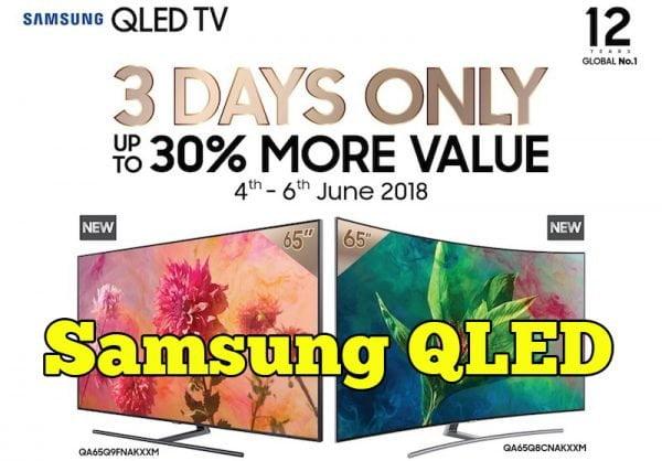 Promosi Harga Samsung QLED TV